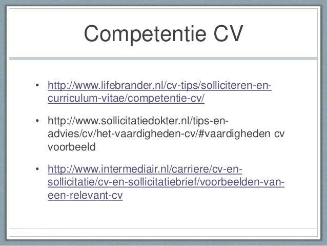 voorbeeld cv competenties Voorbeeld Cv Competenties | hetmakershuis