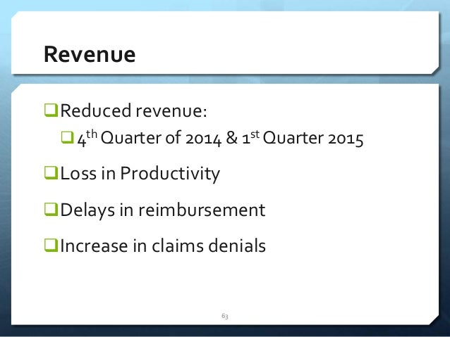 Protecting and Maximizing Your Orthopedic Revenue Cycle in 2014