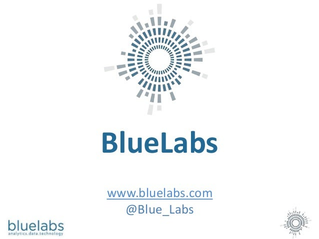 BlueLabs www.bluelabs.com @Blue_Labs