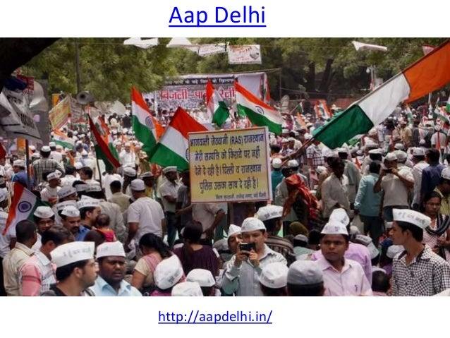 Aap Delhi http://aapdelhi.in/