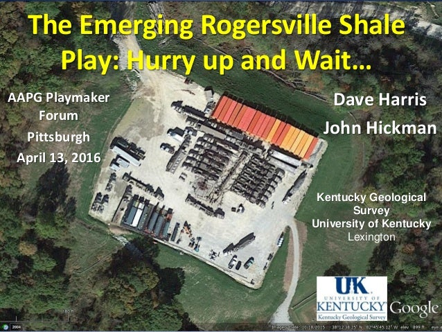 the emerging rogersville shale play  hurry up and wait