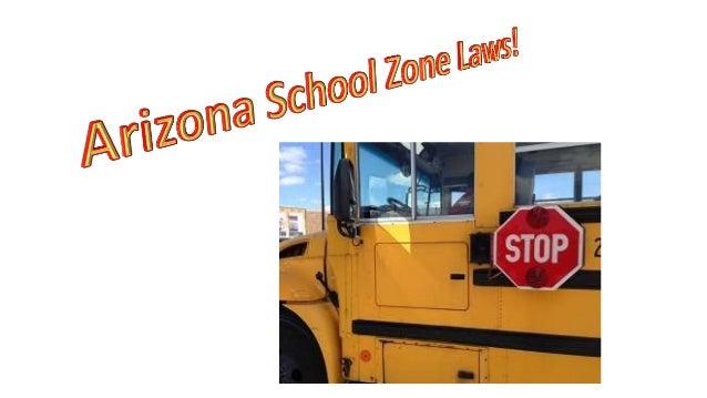 School Bus Zones in Arizona Slide 2
