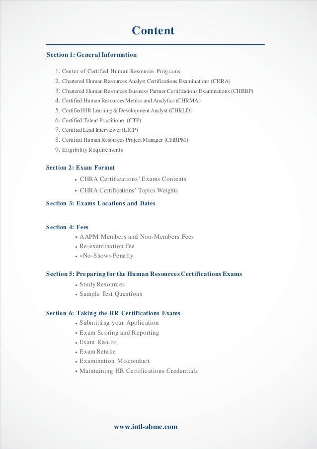 GAFM - Global Academy of Finance Management - HR CERTIFICATION progra…