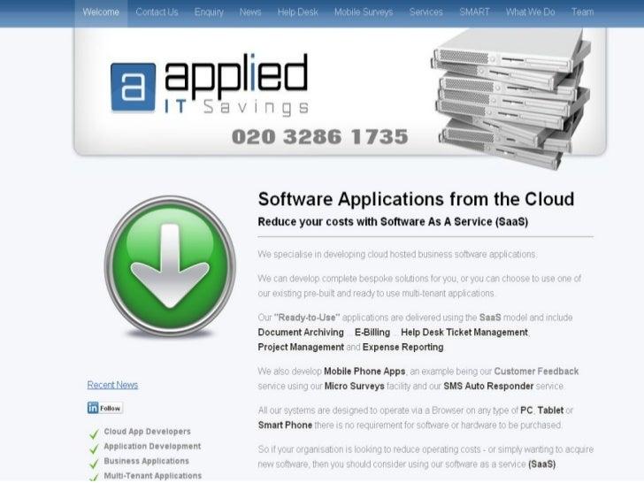 Applied IT Web Site Portfolio