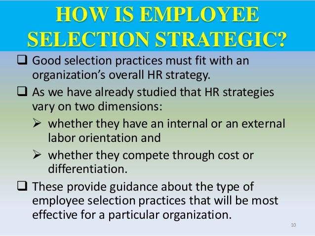 Employee Recruitment and Selection U3