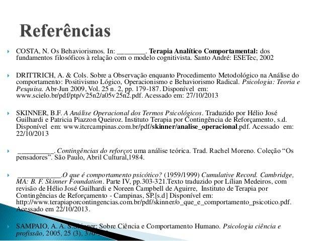 Comportamento pdf skinner ciencia e humano