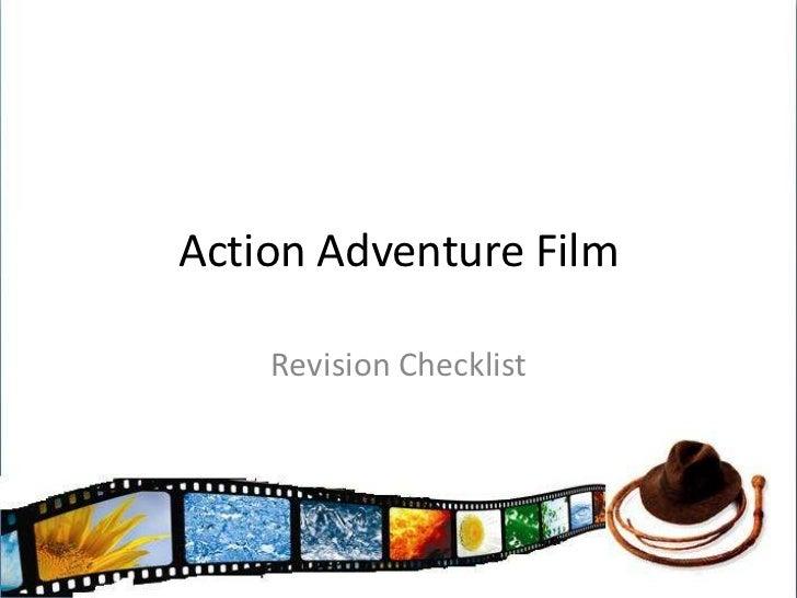 Action Adventure Film<br />Revision Checklist<br />