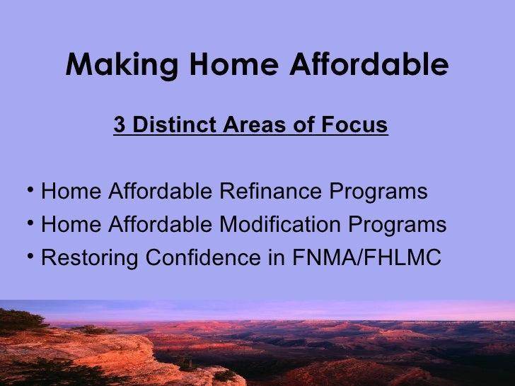 Aar homeowner affordability and stability program Home affordable modification program