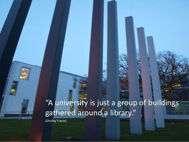 Open scholarship, social media & libraries Slide 3