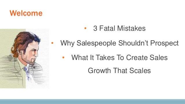 "Hubspot Inbound Conference Talk - ""Create Predictable, Scalable Sales Revenue"" Slide 3"