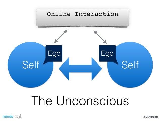 @DrAaronB Self The Unconscious Self Ego Online Interaction! Ego