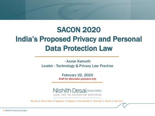 Mumbai | Silicon Valley | Bangalore | Singapore | Mumbai-BKC | New Delhi | Munich | New York © Nishith Desai Associates SA...