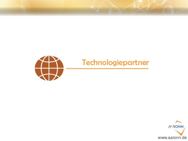 Technologiepartner www.aaronn.de