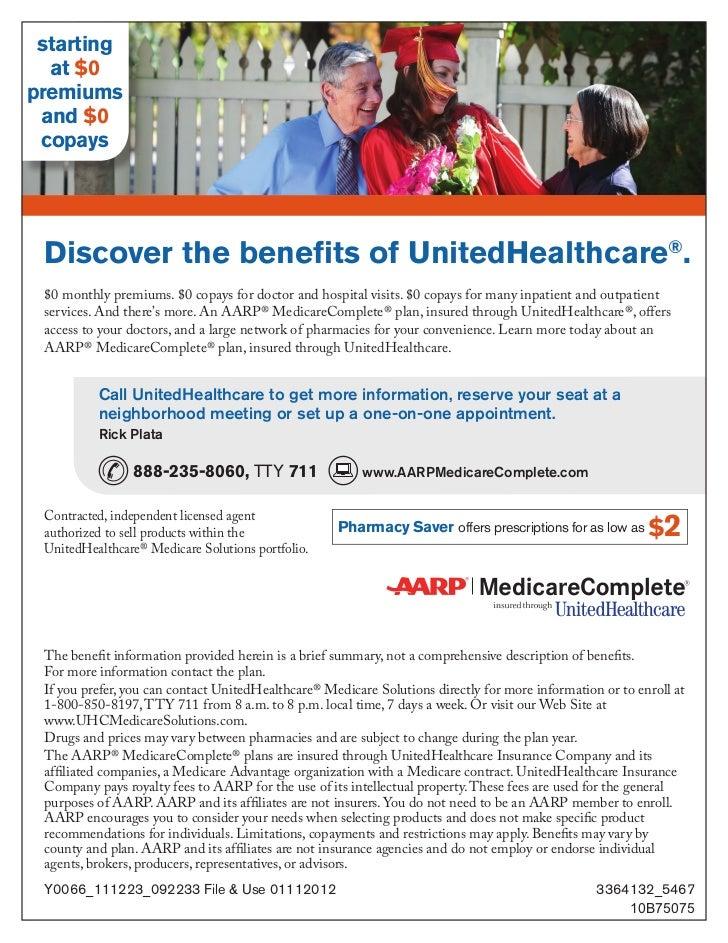 Southern California 0 Premium Aarp Unitedhealthcare