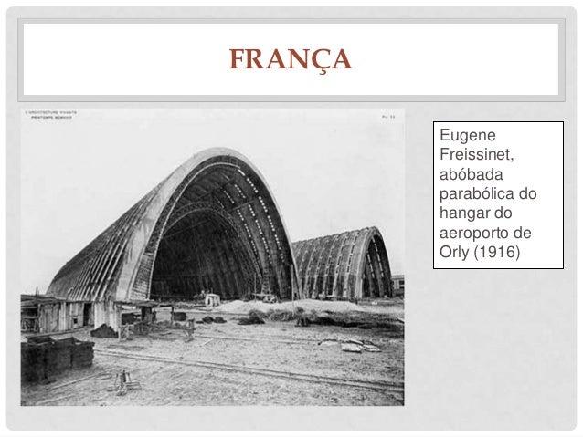 FRANÇAEugeneFreissinet,abóbadaparabólica dohangar doaeroporto deOrly (1916)