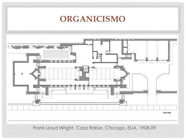ORGANICISMOFrank Lloyd Wright, Casa Robie, Chicago, EUA, 1908-09