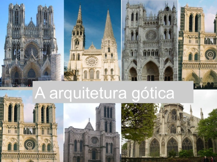 A arquitetura gótica