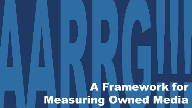 A Framework for Measuring Owned Media
