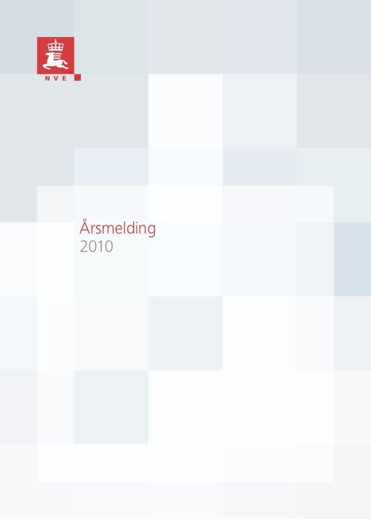 Årsmelding  2010