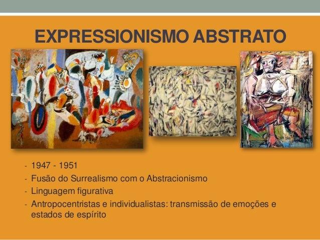 Arte abstrata e figurativa