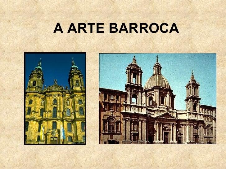 A ARTE BARROCA