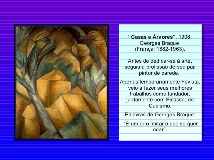 A arte do cubismo Slide 3