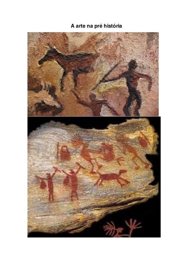 A arte na pré história