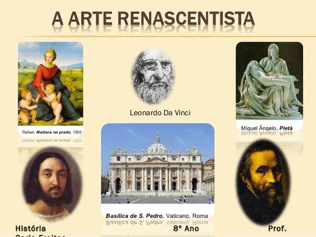 Leonardo Da VinciHistória 8º Ano Prof.