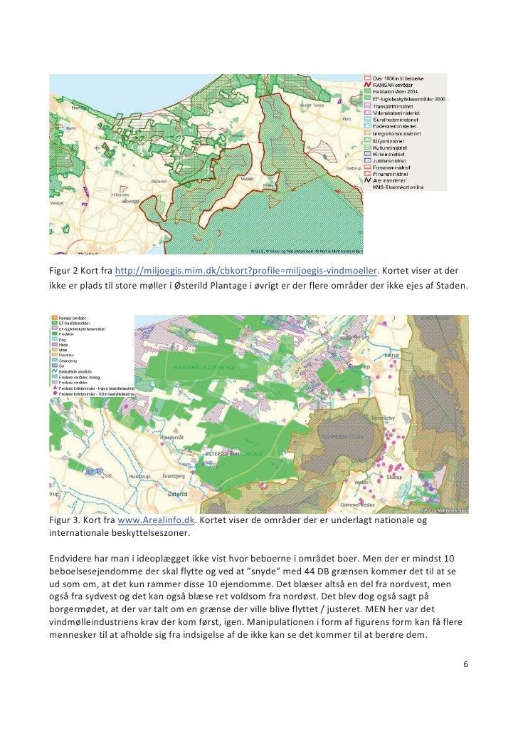 Figur 2 Kort fra http://miljoegis.mim.dk/cbkort?profile=miljoegis-vindmoeller. Kortet viser at der ikke er plads til store...