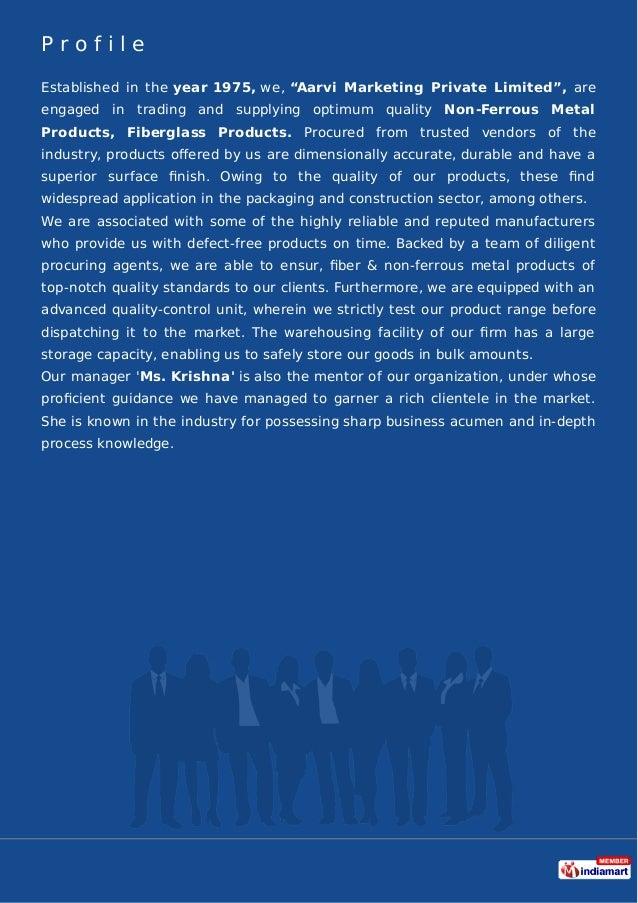 Aarvi Marketing Private Limited, Ahmedabad, Fiberglass & Wood Products Slide 2