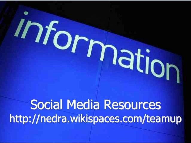 Nedra Weinreich @Nedra nweinreich@eiconline.org http://eiconline.org/teamup @MediaTEAMup Questions?