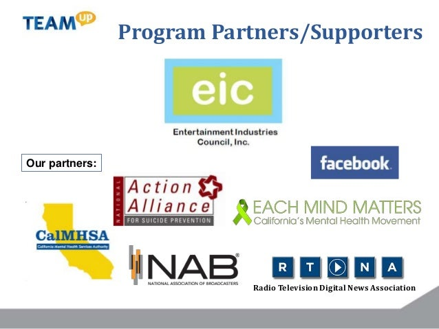 Our partners: Radio Television Digital News Association Program Partners/Supporters
