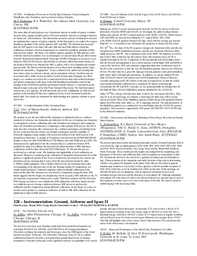 Aas 221 abstracts