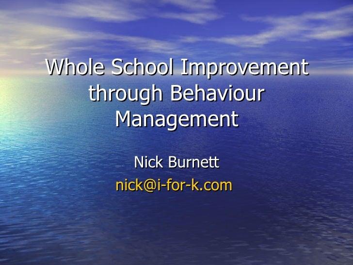 Quotes About Behavior Management. QuotesGram