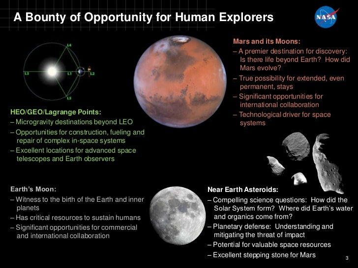 Plans for Human Exploration Beyond Low Earth Orbit