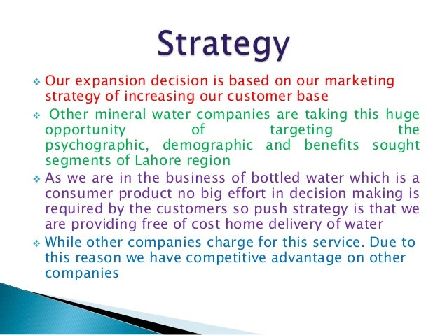 Mineral Water Manufacturing Plant