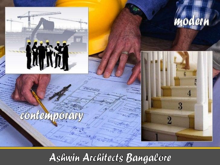 Ashwin Architects Bangalore contemporary modern