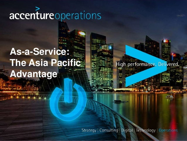 As-a-Service: The Asia Pacific Advantage