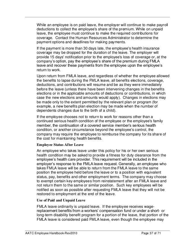 Aatc employee handbook final 2010 (2)