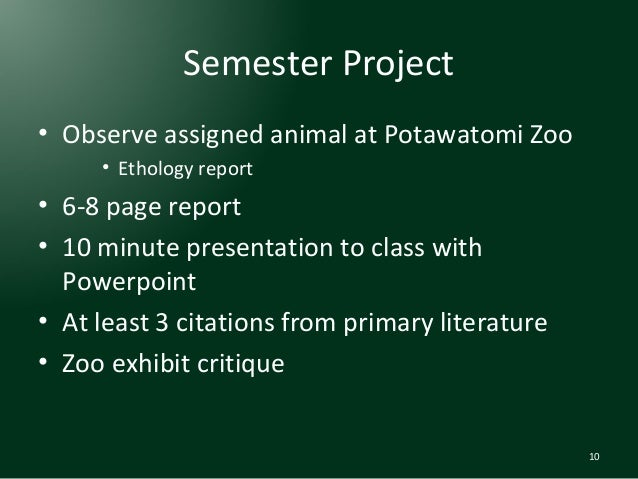 Introduction to zoology