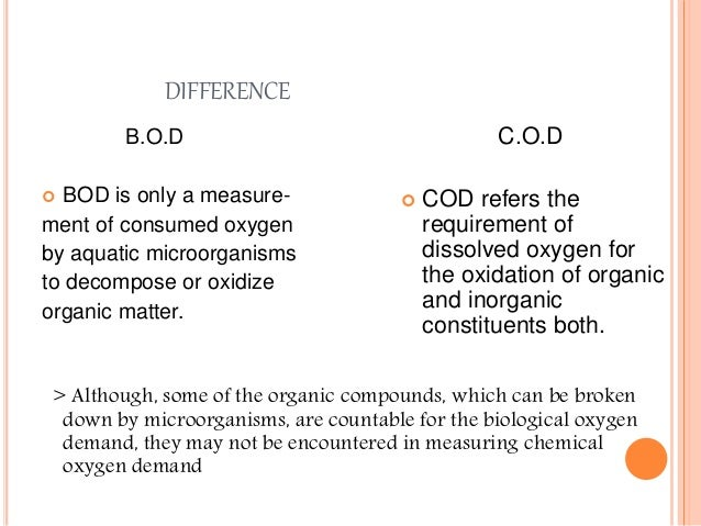 Biological oxygen demand bod of water sample analysis essay