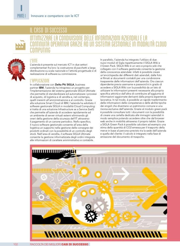 Deltaphi SIGLA caso di successo SMAU 2012