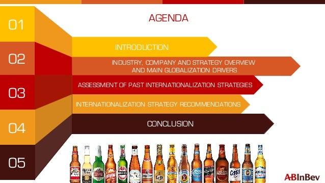 Ab Inbev Internationalisation Startegy