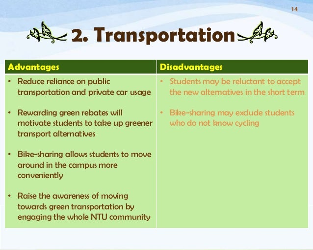 advantages and disadvantages of public transport in singapore