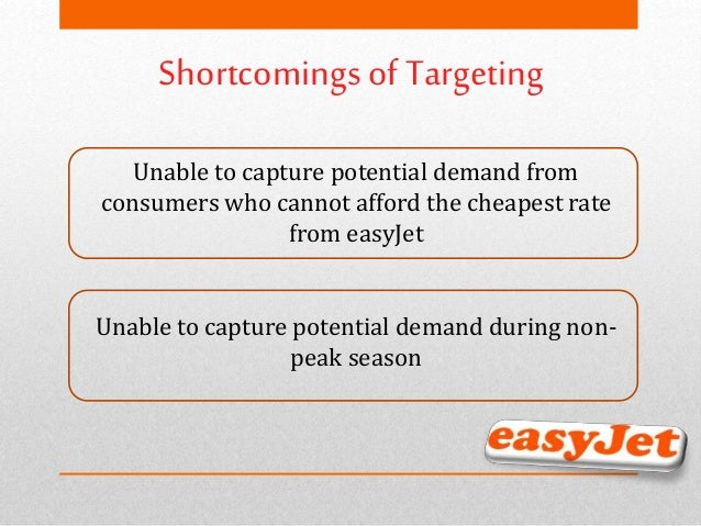 easyjet e marketing strategies analysis Easyjet® pricing strategy: should low-fare airlines offer last-minute marketing strategy is a simple fare structure in which all fares are quoted one-way and a 3 empirical analysis in this section we utilize data from a european low-cost carrier, easyjet, first to observe its pricing and demand patterns.