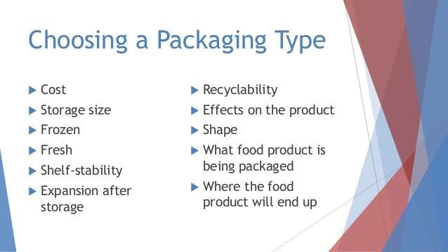Regulation of food packaging