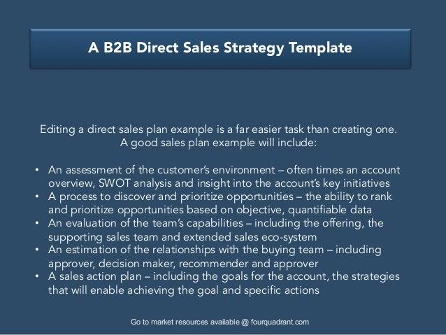 ab2bdirectsalesstrategytemplate4638jpgcb 1479230363 – Sales Strategy Template