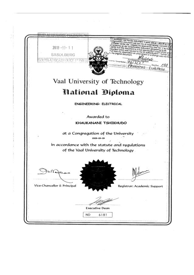 national diploma electrical engineering