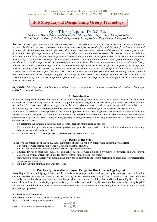 International Journal of Modern Engineering Research (IJMER)www.ijmer.com Vol.3, Issue.3, May-June. 2013 pp-1268-1272 ISSN...