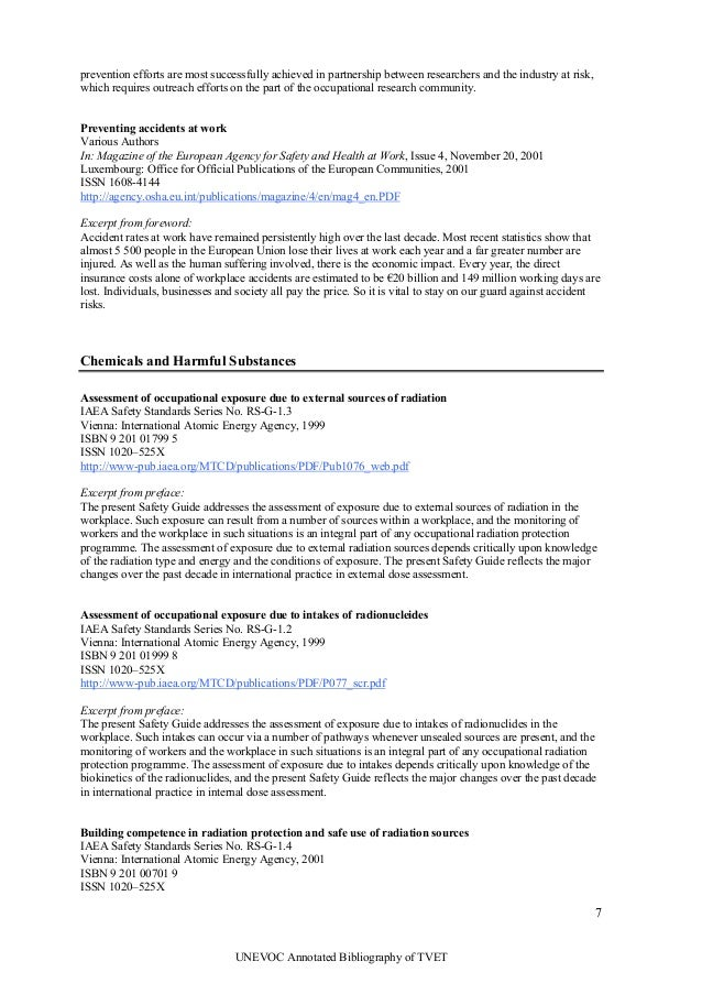 initial research and annotated bibliography on health and wellness in the workplace